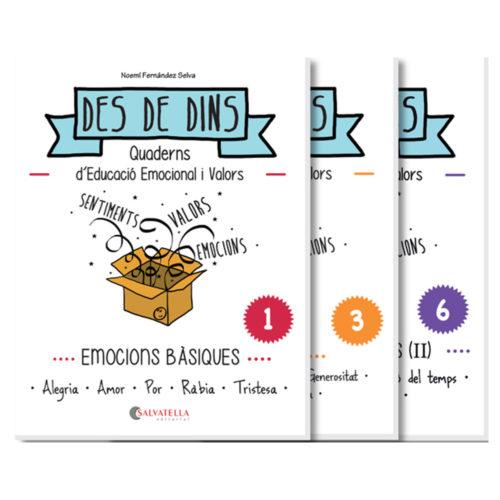 Col·lecció Des de dins. quaderns d'educació emocional i valors