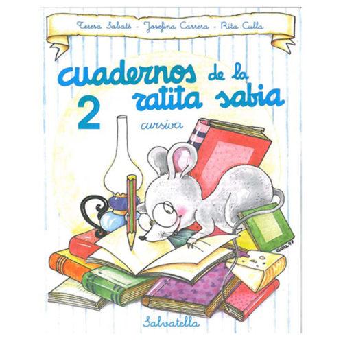Cuadernos ratita sabia cursiva 2