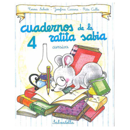 Cuadernos ratita sabia cursiva 4