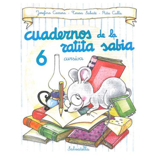 Cuadernos ratita sabia cursiva 6
