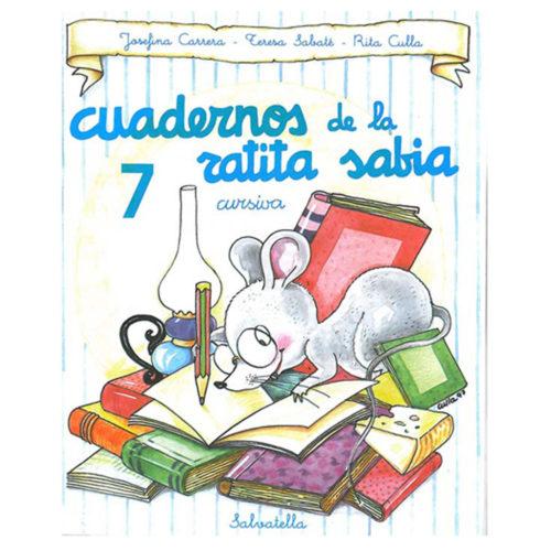 Cuadernos ratita sabia cursiva 7