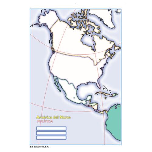 América del Norte política
