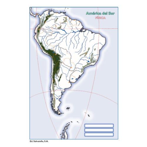 América del Sur física