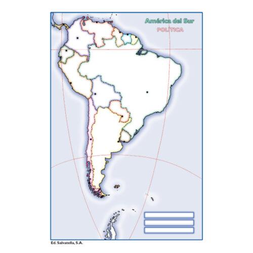 América del Sur política