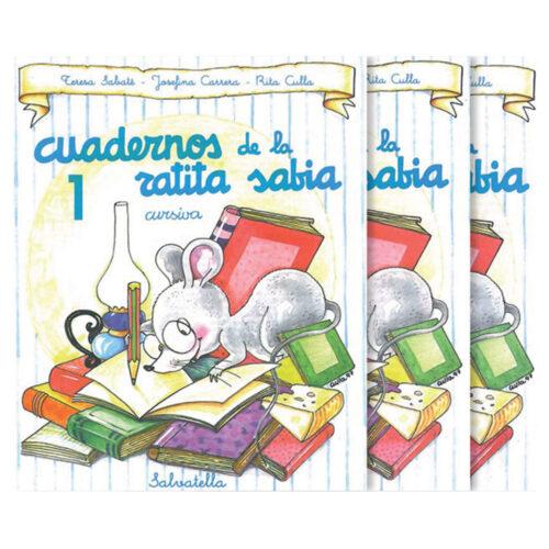 Cuadernos ratita sabia cursiva