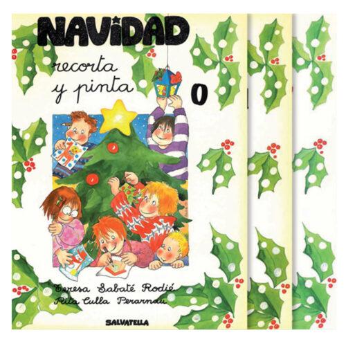 Colección Navidad recorta y pinta